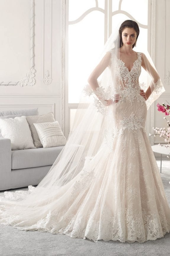 mermaid wedding dress min