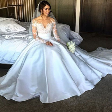 silk wedding dress min