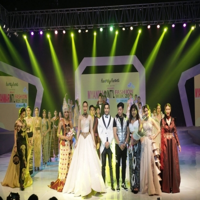 Myanmar Int'l Fashion Week 2018